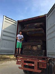 Africa Shipment Arrived – Dec 2015